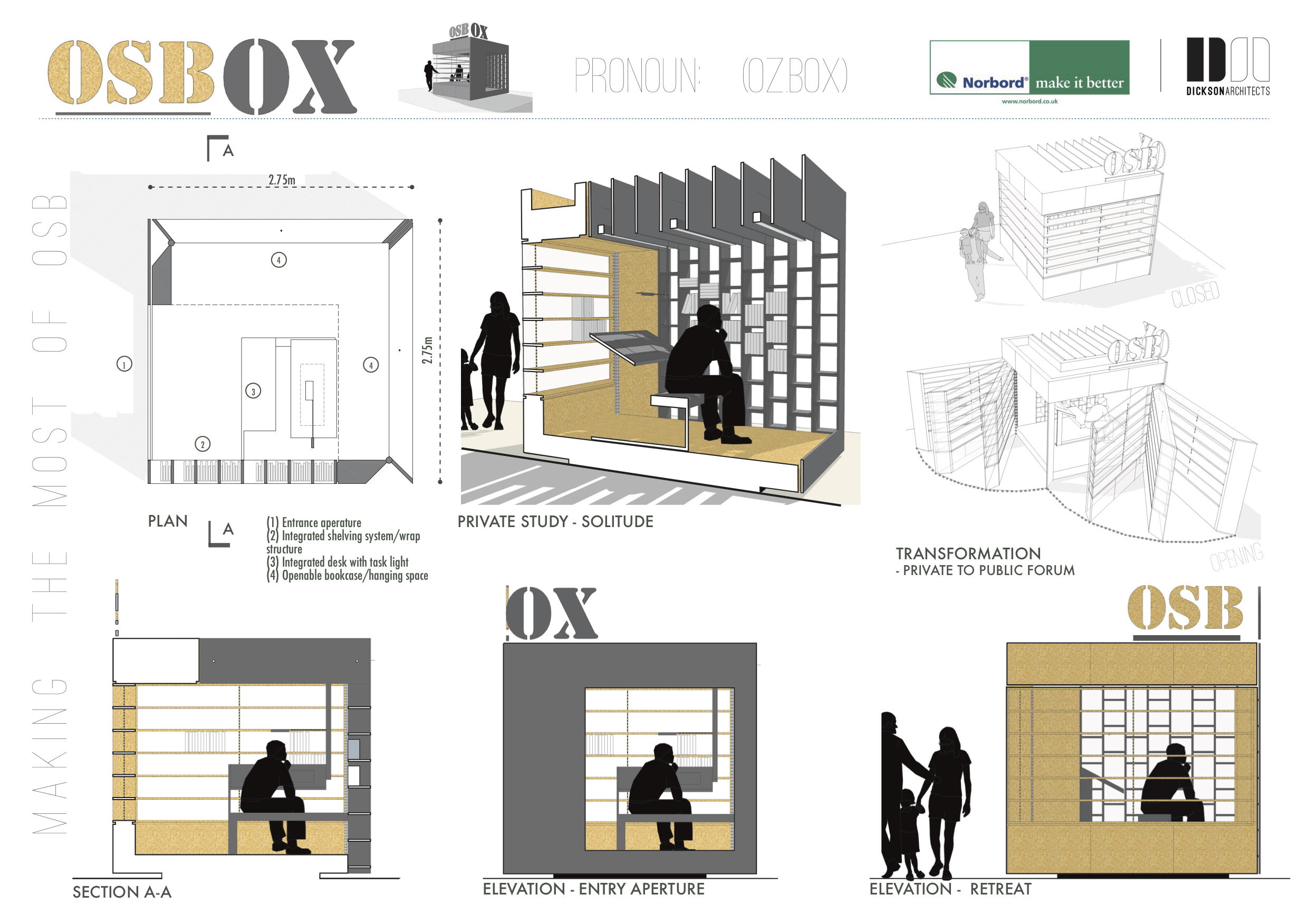 Dickson Architects - Room within a Room - osbox 1